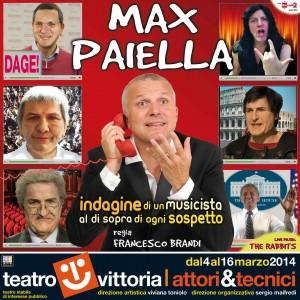 Max Paiella dal 4 marzo Indagine di un musicista al di sopra di ogni sospetto