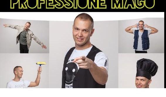 PROFESSIONE MAGO AL TEATRO ALBA